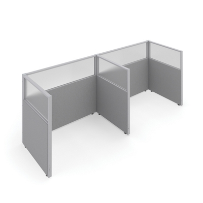 "47""H Panels Only 1x2 Privacy Stations 60""x37"" Each"