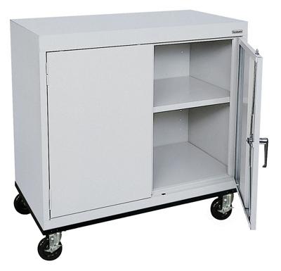 "Mobile Storage Cabinet - 36""W x 24""D"