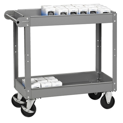 "Two Tray Utility Cart - 16""W x 30""D"