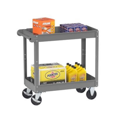 "Two Tray Utility Cart - 36""W x 24""D"