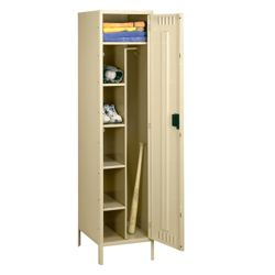 "Antimicrobial Combination Locker with Legs - 24""W"