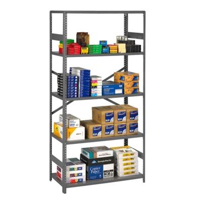 """Open Steel Shelving Unit - 36""""W x 18""""D x 75""""H"""