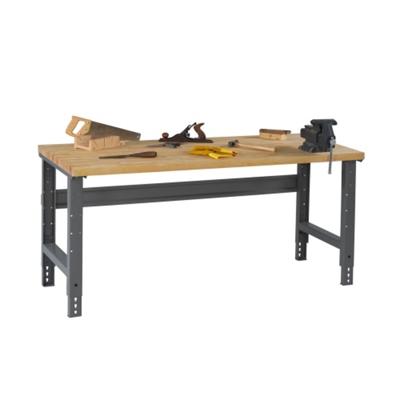 "Wood Top Workbench - 60"" x 30"""