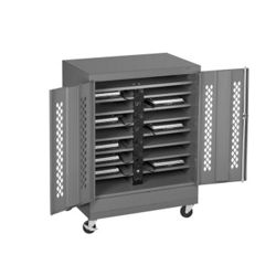 "Mobile 16 Slot Charging Station- 49""H"