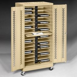 "Mobile 32 Slot Charging Station- 79""H"