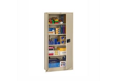 "Storage Cabinet with Keypad Lock 78""H x 18""D"