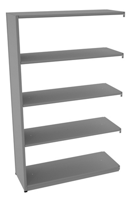 "Shelving Add-On Unit - 48""W x 18""D x 76""H"