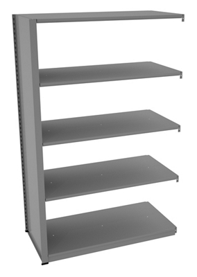 "Shelving Add-On Unit - 48""W x 24""D x 76""H"