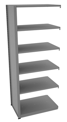 "Shelving Add-On Unit - 36""W x 24""D x 88""H"