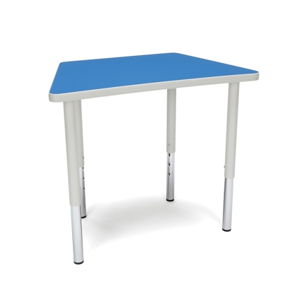 "Standard Height Trapezoid Table - 32.5""W"