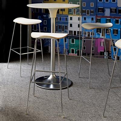 Café Table and Three Bar Stools Set