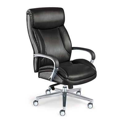 La-Z-Boy Lincoln Leather Big and Tall Executive Chair