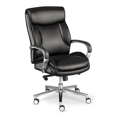 La-Z-Boy Lincoln Faux Leather Mid Back Executive Chair