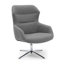 Skoop High Back Swivel Lounge Chair