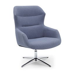 Skoop High Back Swivel Lounge Chair