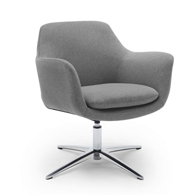 Skoop Low Back Swivel Lounge Chair