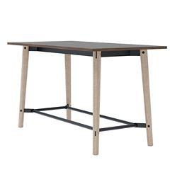 "Bar-Height Laminate Collaborative Table - 36""W x 72""D"