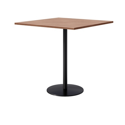 Bar Height Laminate Pedestal Table With Round Base 42 W X 42 D By Kfi Nbf Com