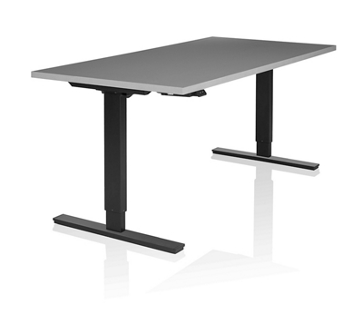 "Adjustable Height Single Motor Table 72""W x 30""D"