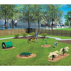 Four Piece Novice Dog Park Set