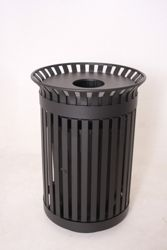 36 Gallon Rain Bonnet Top Waste Receptacle