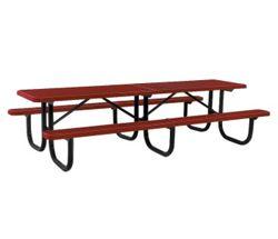 10' Wide Rectangular Outdoor Table