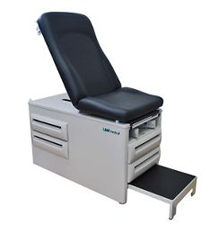 Manual Exam Table with Four Drawers