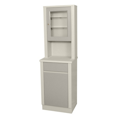 """Treatment Cabinet with Lockable Glass Case - 65""""H"""
