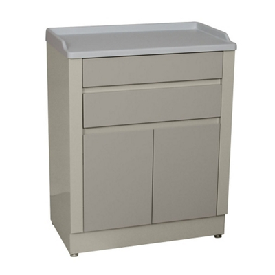 """Two Drawer Treatment Cabinet with Doors - 33.5""""H"""