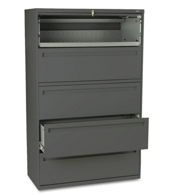"Five Drawer 42""W Lateral File"