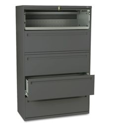 """Five Drawer 42""""W Lateral File"""
