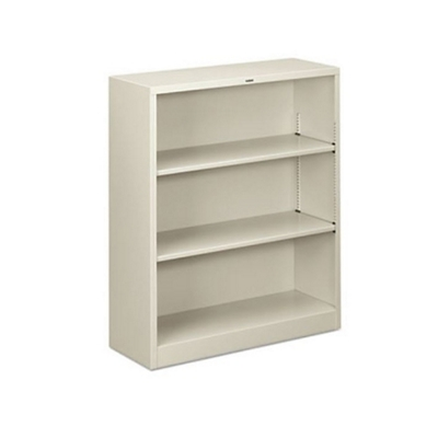 Steel Bookcase with Three Shelves