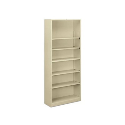 Steel Bookcase with Six Shelves