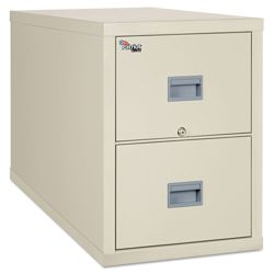 Two Drawer Fireproof Vertical File - Legal Size