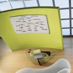 "49""W x 32""H Translucent Frame Dry Erase Board"