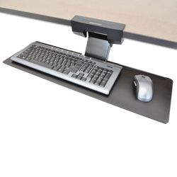 Adjustable Height Under-Desk Keyboard Tray