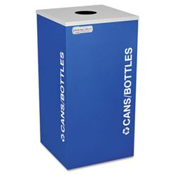 Square Can or Bottle Receptacle - 24 Gallon