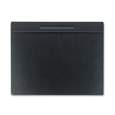 """Faux Leather and Wood Desk Pad - 24""""W x 19""""D"""