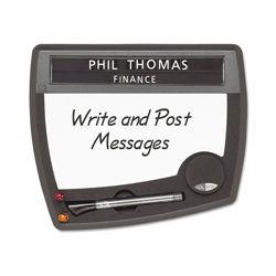 Tack and Write Nameplate