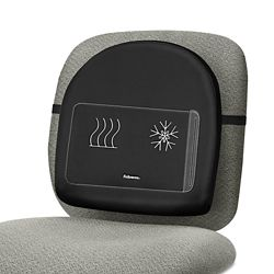 Backrest with Climate-Control Gel Pack