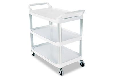 """38""""W Three Shelf Utility Cart"""