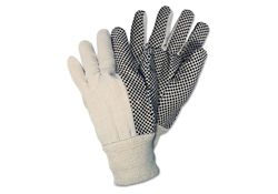 Dotted Canvas Work Gloves - Box of 12
