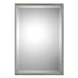 """31""""H x 21""""W Rectangular Metal Frame Mirror"""