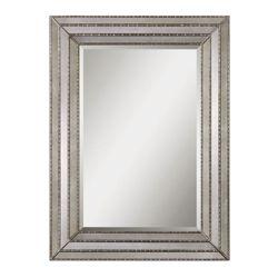 "46.75""H x 34.75""W Rectangular Inlay Frame Mirror"