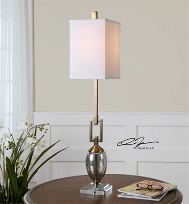 Mercury Buffet Lamp