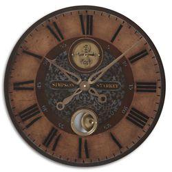 "Bronze Weathered 23""Dia Wall Clock"