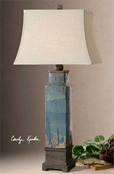 "Ceramic Table Lamp - 37.5""H"