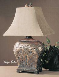 """Rustic Table Lamp - 26.5""""H"""