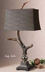 """Antler Table Lamp - 34.25""""H"""
