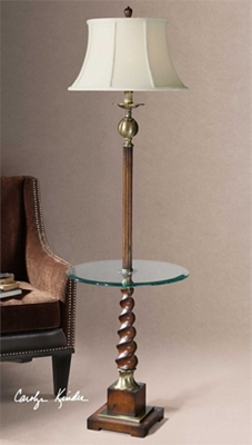 """Twisted Floor Lamp - 64.5""""H"""